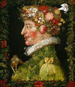 Spring  by Guiseppe Acrimboldo - 1573