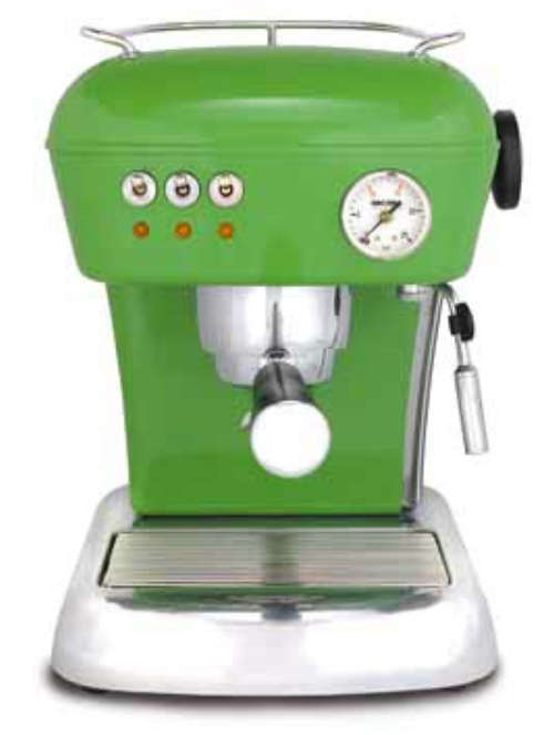 Green Espresso Machines | Italy in 30 Seconds