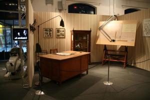 A recreation of d'Ascanio's Studio