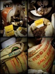 coffee wood fired