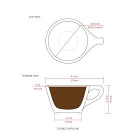 cappuccino cup diagram