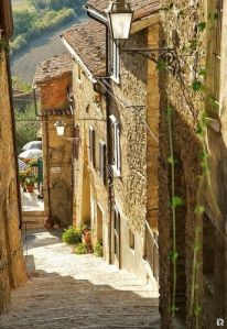 spring and italy