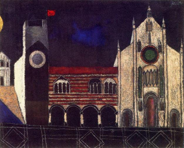 Franco Gentilini 1909-1981 - Italian Imaginative Realism painter - Tutt'Art@ (35)