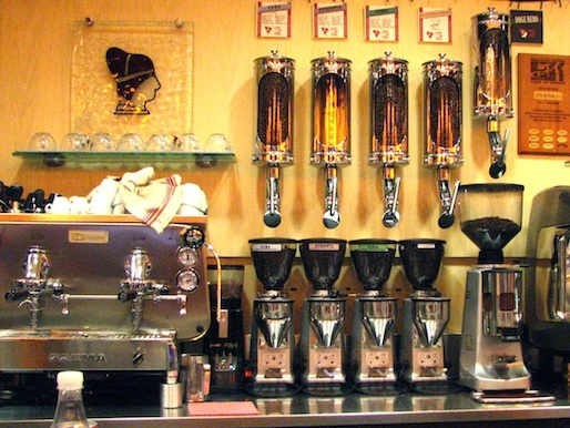 The espresso bar at Caffe del Doge in Venice